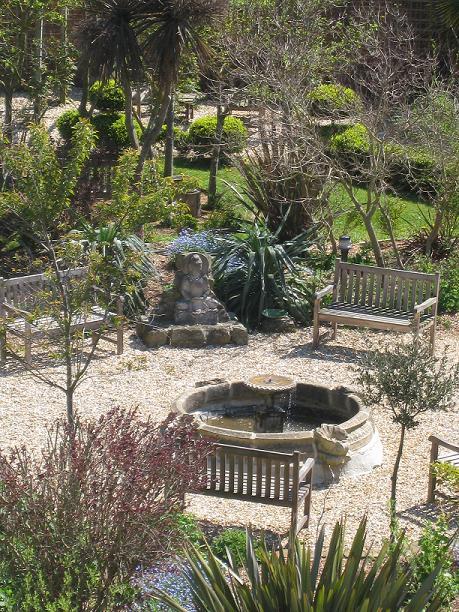 Peace Garden at Buddhist Centre Hove