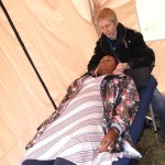 Having Reiki Treatment