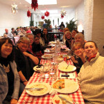 All enjoying Xmas lunch!